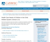 Health Care Needs of Children in the Child Welfare System (Version 2.0)