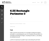 Rectangle Perimeter 3
