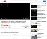 Linear Algebra: Eigenvalues of a 3x3 Matrix