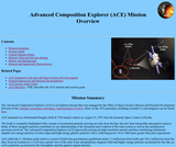 Advanced Composition Explorer (ACE) Mission Overview