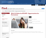 Web 2.0: Risks for STI/HIV - Opportunities for Prevention
