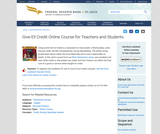 Give Ell Credit Online Course for Teachers and Students