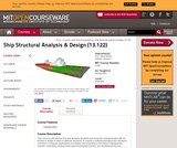 Ship Structural Analysis and Design (13.122), Spring 2003
