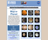 NASA Planetary Data System Map-A-Planet