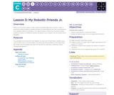 CS Fundamentals 3.3: My Robotic Friends Jr.