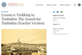 Lesson 6: Trekking to Timbuktu: The Search for Timbuktu (Teacher Version)