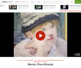 Edouard Manet's Plum Brandy