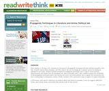 Propaganda Techniques in Literature and Online Political Ads