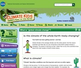 Climate Kids: What is Global Climate Change?