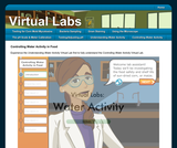 Virtual Labs: Controlling Water Activity