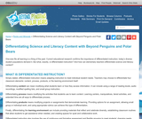 Differentiating Science and Literacy Content with Beyond Penguins and Polar Bears