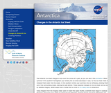 Changes in the Antarctic Ice Sheet