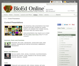 BioEd Online: Presentations
