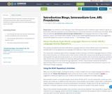 Introduction Bingo, Intermediate-Low, ASL Foundation