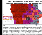 Iowa Early History Glaciers to Settlement: Unit 8 (Adaptive Video with Captioning)  The Successful Transformation of Tallgrass Prairie