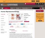 Human Reproductive Biology, Fall 2005