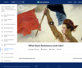 What Does Resistance Look Like?