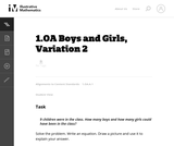 Boys and Girls, Variation 2