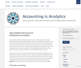 Accounting is Analytics – Teaching Materials for Introductory Accounting