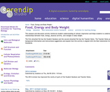 Food, Energy and Body Weight