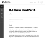 Shape Hunt Part 1