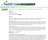 Balloon Cars Revisited: Alternative Fuel Gases