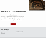 Precalculus 1 & 2 with Trigonometry