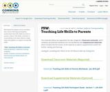FSW: Teaching Life Skills to Parents