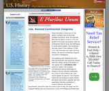 10e. Second Continental Congress