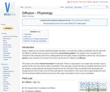 Diffusion - Physiology