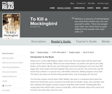 To Kill a Mockingbird by Harper Lee - Reader's Guide