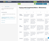 Coping with Complexity Rubric —Elementary