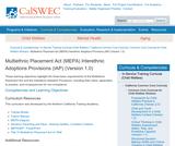 Multiethnic Placement Act (MEPA) Interethnic Adoptions Provisions (IAP) (Version 1.0)