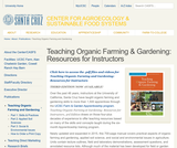 Teaching Organic Farming & Gardening: Resources for Instructors