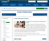 Grade 6 Module 2:  Arithmetic Operations Including Division of Fractions