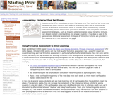 Assessing Interactive Lectures