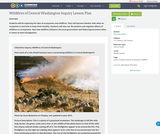 Wildfires of Central Washington Inquiry Lesson Plan