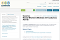 Core for Social Workers Module 2: Foundation Part II