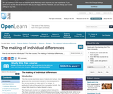 the Making of Individual Differences