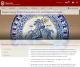 Digital Library for the Decorative Arts and Material Culture