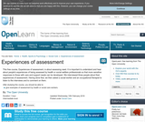 Experiences of Assessment
