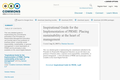 Inspirational Guide for the Implementation of PRME: Placing sustainability at the heart of management