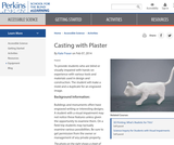 Casting with Plaster