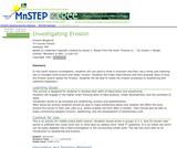 Investigating Erosion
