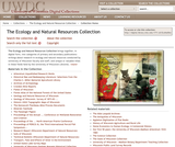 Ecology and Natural Resources Collection