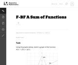 A Sum of Functions