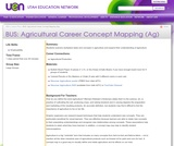 BUS: Agricultural Career Concept Mapping (Ag)