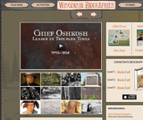 Chief Oshkosh Biography