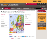 Political Economy of Western Europe, Spring 2003