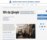 We the People Constitution Tour: Teacher Resources and Lessons
